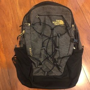 The North Face Black and Gold Borealis